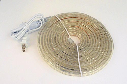 Cbconcept 40 feet 120 volt led smd3528 flexible flat led strip previous next mozeypictures Image collections