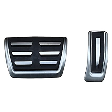 Amazon.com: WANWU DSG Gas Brake Foot Pedal Cover For AUDI A4 S4 A5 A6 S6 Q5 S5 RS5 A7(AT Gas Brake pedals): Automotive