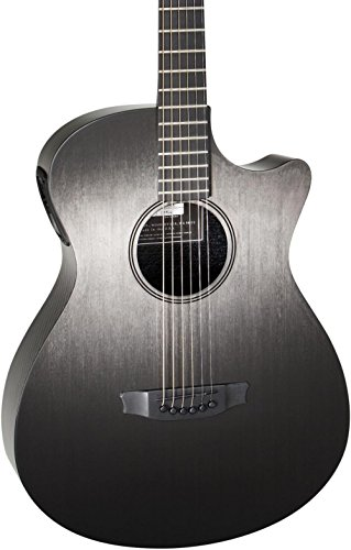 RainSong Concert Hybrid Series CH-OM Acoustic-Electric Guitar with L.R. Baggs Stagepro Element (Stripe Rosette)