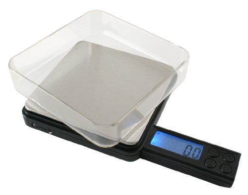 American Weigh Scales Black Blade BL2-50G-BLK Digital Pocket Scale, 50 by 0.01 G