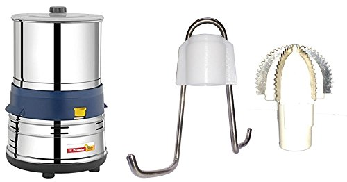 Premier Wonder - Table Top Wet Grinder 1.5 Litres 110 Volts - Free RhisaS Aata Kneader And Coconut Scrapper.