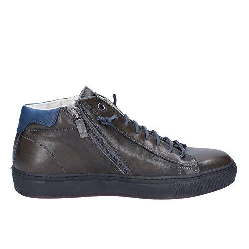 DAcquasparta Sneakers Hombre 44 EU Verde Oscuro Cuero
