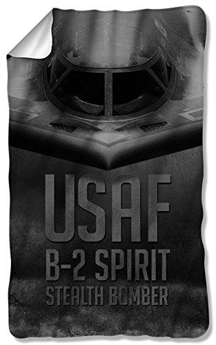 Air Force - Stealth Fleece Blanket 35 x 57in
