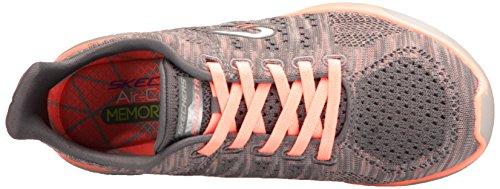 Bkcc Femme 23388 Baskets Studio 001 Skechers Burst gyor grey Multicolore UxBgYn