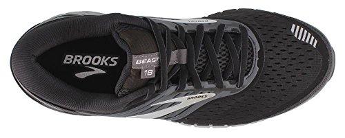18 Brooks Silver 8 M Men Beast Grey Wide Extra US Black 4E 4qF6Rq