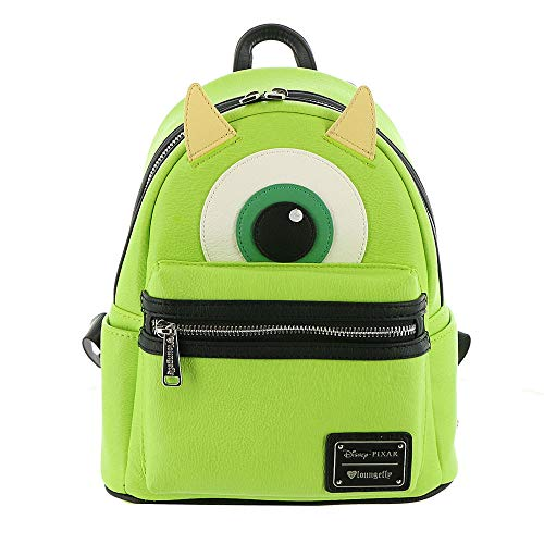 Loungefly Mike Wazowski Faux Leather Mini Backpack Standard ()