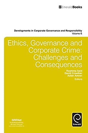 Notes on business ethics and corporate governance