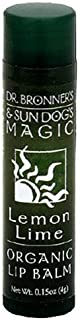 product image for Dr. Bronner's & Sun Dog's Magic Organic Lip Balm, Lemon Lime, 0.15-Ounce Stick
