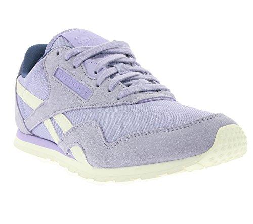 Laufschuhe Reebok 001 Mehrfarbig Nylon CL Violet Damen Slim Core qqHgP
