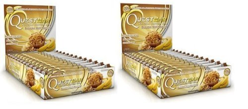 Quest - Nutrition Protein Bars, Banana Nut Muffin - 2.12oz (Pack of 24)