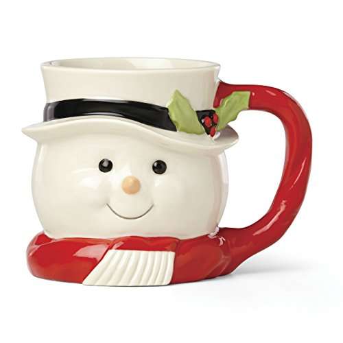 Lenox 879279 Hosting the Holidays Figural Mug, Multicolor
