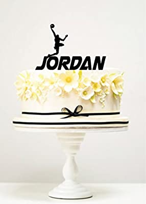 Black and Red 100 Counts Jumpman Basketball Party Table Confetti for Baby Shower//Birthday Supplies Decorations