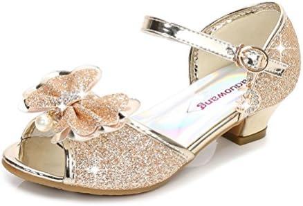 シンキ 폰 걸즈 드레스 슈즈 샌들 예쁜 크리스탈 신형 복장 신발 여 아 신발 어린이 화 귀여운 댄스 신발 편안 하 고 세련 된 / Shinkiphone Girls Dress Shoes Sandals Beautiful Crystal New Formal Shoes Girls` Shoes Kids Shoes Cute Dance Sho...