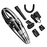 AMYMGLL Handheld Vacuum,Mini Vacuum Car Cleaner for Home and Cleaning,Powered by Li-Ion Battery Rechargeable Quick Charge Tech,Wet Dry
