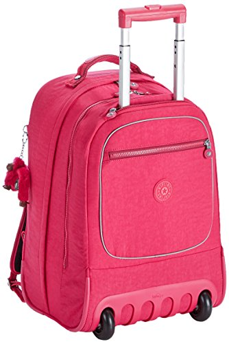 Kipling - CLAS SOOBIN L - Großer Rucksack - Black - (Schwarz) Cherry Pink Mix