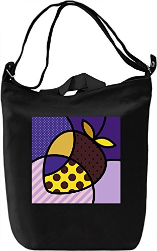 Pop Art Strawberry Borsa Giornaliera Canvas Canvas Day Bag| 100% Premium Cotton Canvas| DTG Printing|