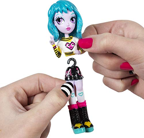 Off the Hook Style Doll 3-Pack, 4-inch Small Dolls with Mix and Match Fashions and Accessories, for Girls Aged 5 and Up, Exclusively at Amazon