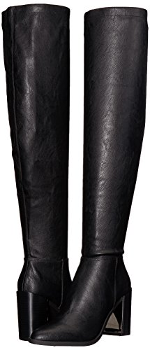 Nine West Women's Wiseplay Synthetic Knee High Boot, Black Synthetic, 10.5 Medium US by Nine West (Image #6)