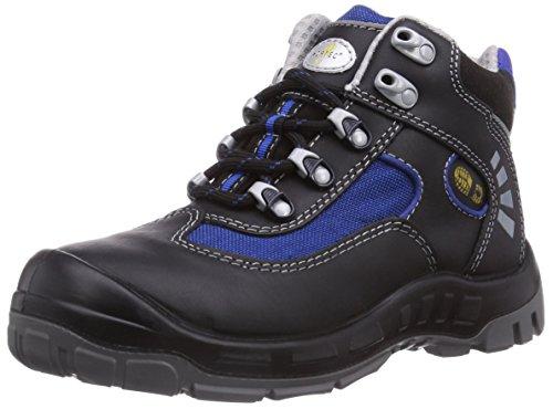 Wortec Alex S2 - Calzado de protección Unisex adulto Negro (Negro/Azul)