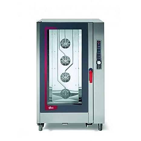 Venix - Horno mixto de vapor (sistema de lavado integrado, 5 GN 2 ...