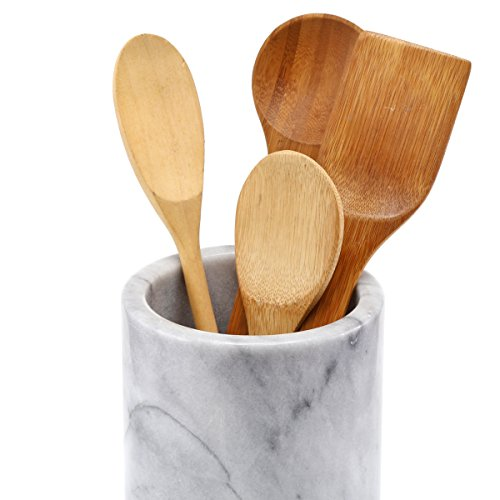 Natural Marble Home Amp Kitchen Features Tool Crock Utensil