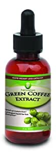 Green Coffee Bean Extract Liquid Drops 2oz