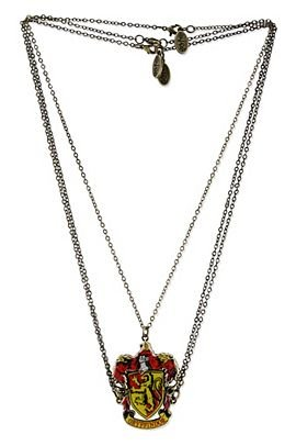 Harry Potter Gryffindor Crest Necklace -