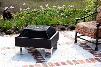 Hot Spot Fire Pit - Fire Sense Hotspot Square Fire Pit