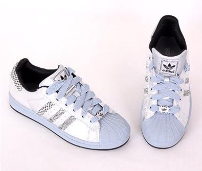 adidas superstar 2 w le donne d'argento di formatori 016903 (6 uk, argento