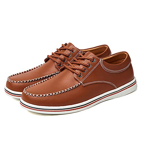 Blu Uomo shoes casual scarpe Pelle da da Jiuyue morbide semplici moda d'affari Scarpe 47 Dimensione da EU Scarpe uomo comode Marrone uomo inglesi Color 2018 cerimonia pn1nUdqwCx