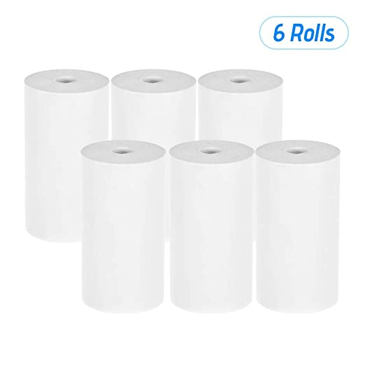 Serui Rollo de papel del recibo térmico 57 * 30 mm (2.17 ...