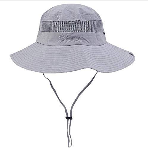 Lightweight Bucket Hat - Unisex Outdoor Sun Cap Camouflage Bucket Mesh Boonie Hat