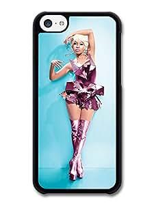 MMZ DIY PHONE CASENicki Minaj Metal Dress Blue Background case for iphone 6 plus 5.5 inch