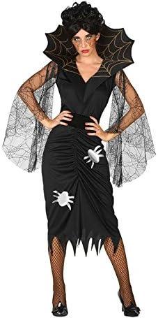 Atosa-57534 Disfraz Vampiresa para Mujer Adult, Color Negro, XL ...