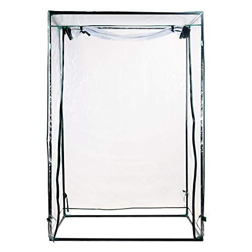 H&B Luxuries 59″ Tall Garden Mini Greenhouse for Upright Plants GH8109
