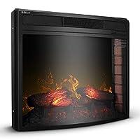 DELLA 1400w Embedded Fireplace Electric ...