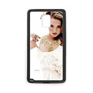 Hayden Panettiere Hot Pic funda Samsung Galaxy Note 4 caja funda del teléfono celular del teléfono celular negro cubierta de la caja funda EEECBCAAJ11352