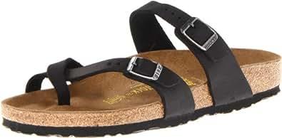 "Birkenstock ""Mayari"" Birko-flor Black - Thong Sandals - 071791 - regular fit EU(35)"