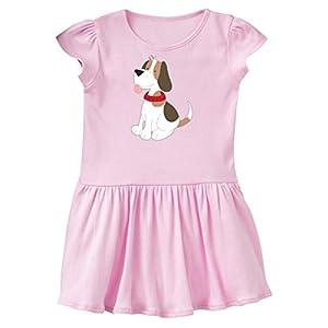inktastic - Beagle Toddler Dress 4T Ballerina Pink 266d7