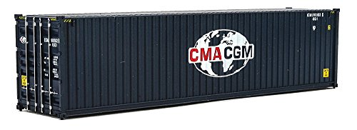 (Walthers Trainline 40' Hi-Cube Corrugated Container CMA-CGM - Assembled Train Collectable Train)