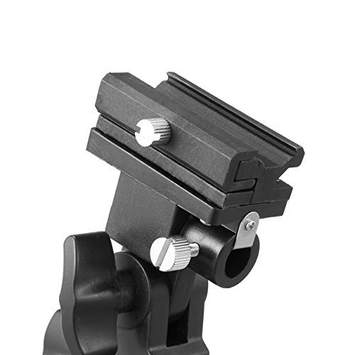 DTOL Flash Bracket Swivel Umbrella Holder Studio Tilting Bracket for Nikon Canon E430 E580 SB600 SB800 SB900 Bracket B
