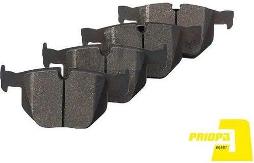 Priopa Bremsscheiben 320Mm Bremsbel/äge Set Hinten