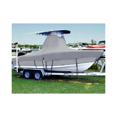 Image of Flags Taylor Made Products 74303OG 74303OG T-Top Hotshot Boat Covers Without Bow Rail Boating Hardware & Maintenance Supplies