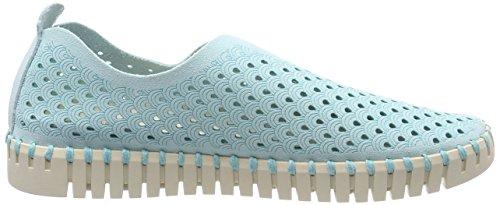 Sneaker Blue Flach Tulip3275 Women's Damen Trainers Grey ILSE See JACOBSEN 605 Blau qw87HUnt
