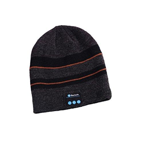Price comparison product image Zhenrong Fashion Beanie Hat Cap Wireless Bluetooth Earphone Smart Headphone