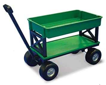 EZ Does It EZ 200 Plastic Gardening/Utility Cart With Flat Beds