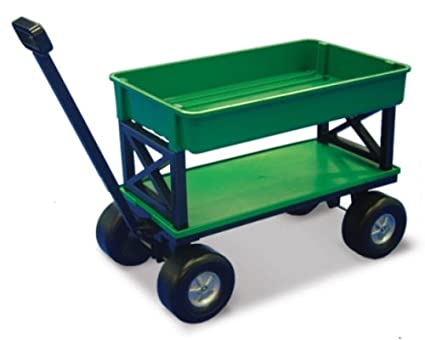 Genial EZ Does It EZ 200 Plastic Gardening/Utility Cart With Flat Beds