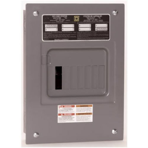 Square D by Schneider Electric QO612L100FCP QO 100 Amp 6-Space 12-Circuit Main Lug Indoor Load - Enclosure Qo 100a