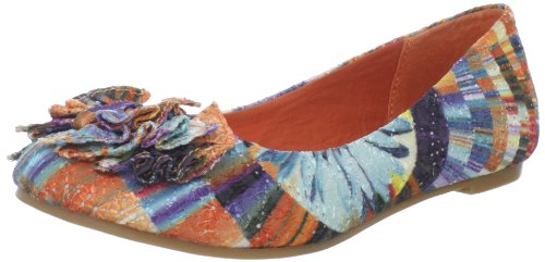 CL By Chinese Laundry Women's Go Ahead Ballet Flat,Rainbow,9 M US (Women Flat Shoes Clearance Dress)