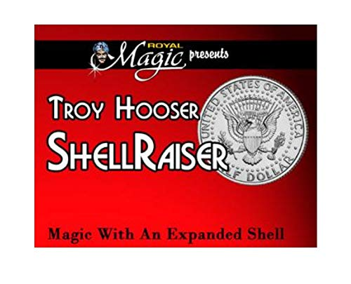 Troy Hooser Magic Shell Raiser Magic Trick with an Expanded Half Dollar Shell Coin